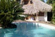 Bungalows with swimming-pool, Las Ballenas Beach