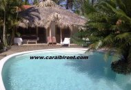 Bungalows with swimming-pool, Las Ballenas Beach